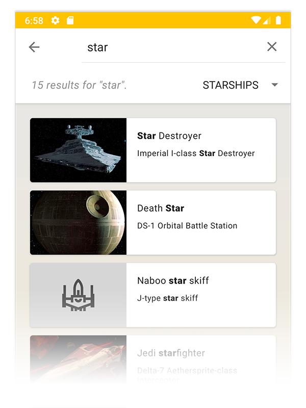 swapi-search-results