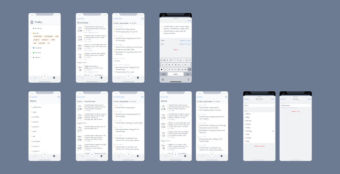 time-journal-iphone-wireframes-journal-all-screens