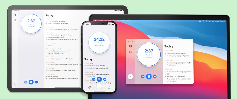 activity-journal-mvp-timer-platform-screens